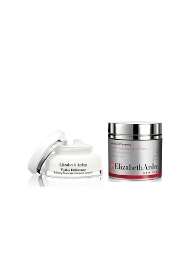 Elizabeth Arden Elizabeth Arden Visible Difference Night Krem 125 Ml+Nemlendirici 75 Ml Renksiz